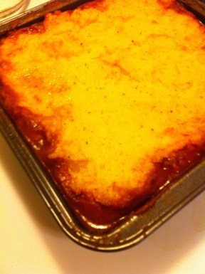 Hot Tamale Pie Baked